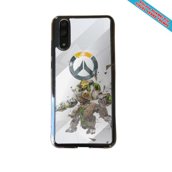 Coque silicone Huawei P30 PRO Fan de BMW sport version super héro