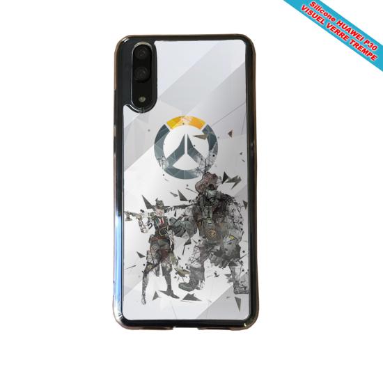 Coque silicone Huawei P20 LITE Fan de BMW sport version super héro