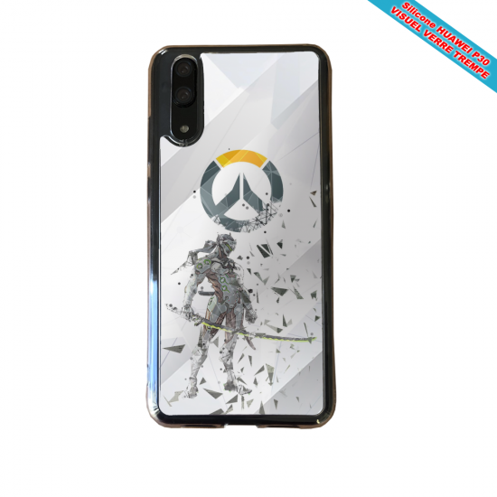 Coque silicone Huawei P10 Lite Fan de BMW sport version super héro