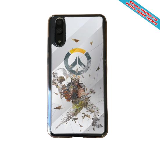 Coque silicone Huawei P9 Lite 2016 Fan de BMW sport version super héro