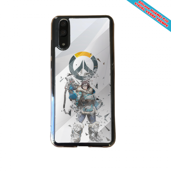 Coque silicone Huawei P8 lite 2017 Fan de BMW sport version super héro