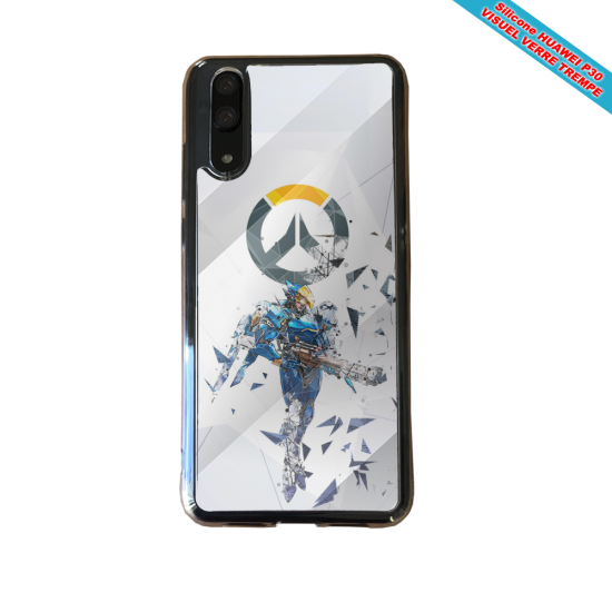 Coque silicone Huawei P8 lite Fan de BMW sport version super héro