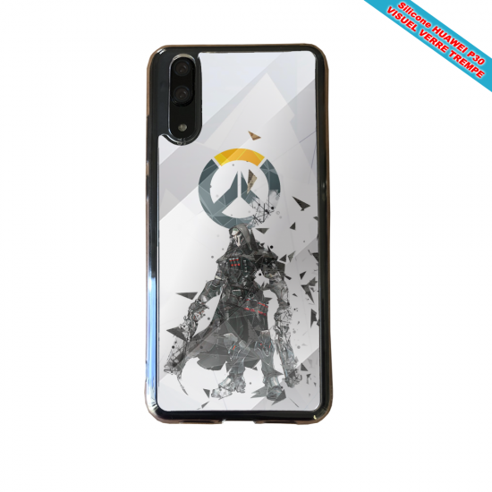 Coque silicone Huawei P8 Fan de BMW sport version super héro
