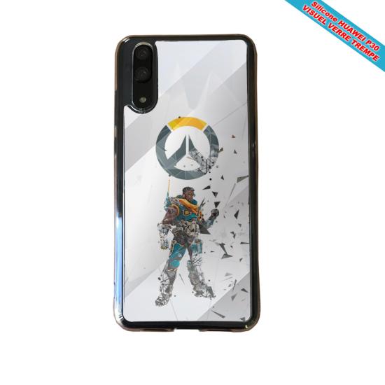 Coque Silicone Galaxy S8 PLUS Fan de BMW sport version super héro