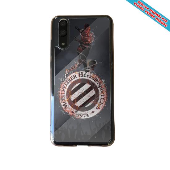 Coque silicone Galaxy J6 Fan de BMW sport version super héro