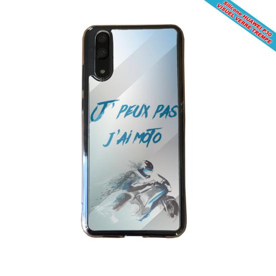 Coque silicone Galaxy A71 Fan de BMW sport version super héro