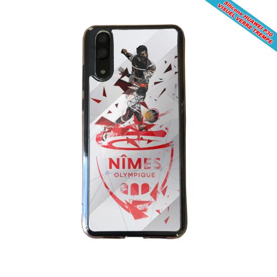 Coque silicone Galaxy A70 Fan de BMW sport version super héro