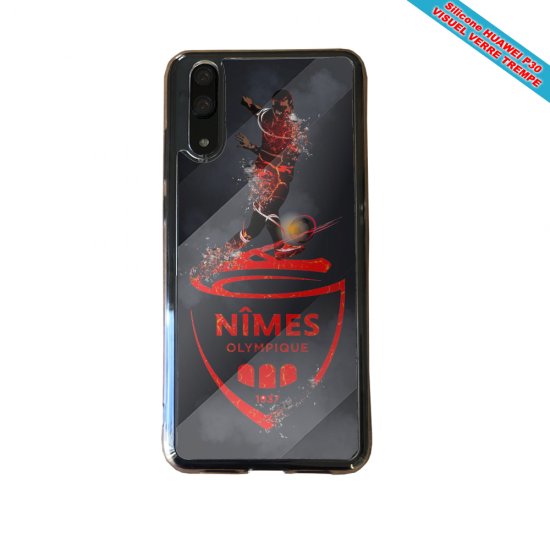 Coque silicone Galaxy A51 Fan de BMW sport version super héro
