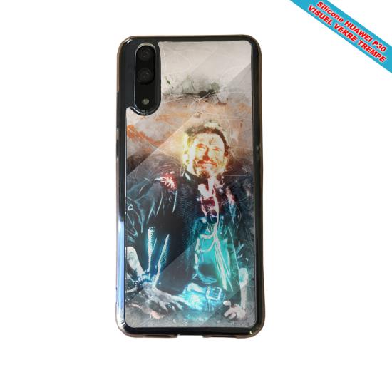 Coque silicone Galaxy A50 Fan de BMW sport version super héro