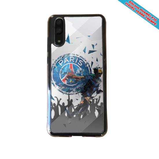 Coque silicone Galaxy A40 Fan de BMW sport version super héro