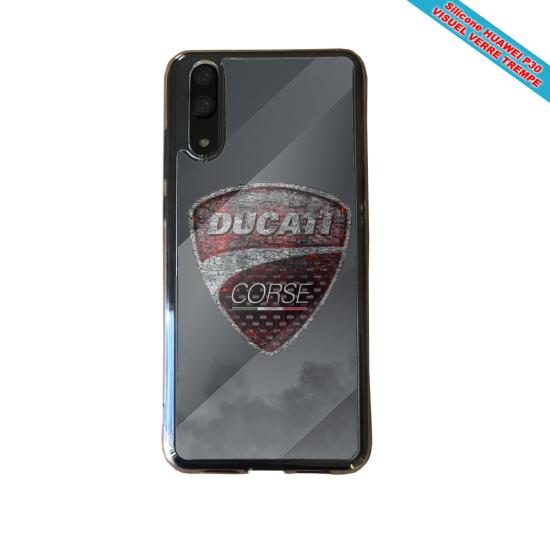 Coque silicone Galaxy A10 Fan de BMW sport version super héro