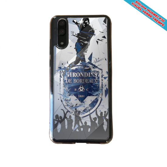 Coque silicone Iphone 11 Pro verre trempé Fan de BMW sport version super héro