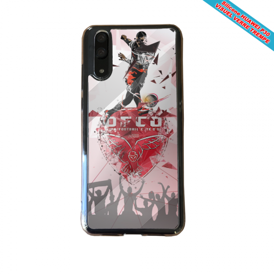 Coque silicone Iphone 11 verre trempé Fan de BMW sport version super héro