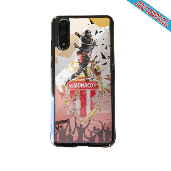 Coque silicone Iphone XS MAX Verre Trempé Fan de BMW sport version super héro