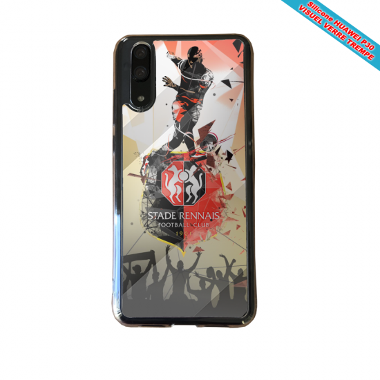 Coque silicone Iphone XR Verre Trempé Fan de BMW sport version super héro