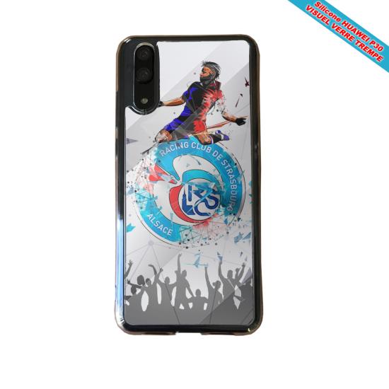 Coque silicone Iphone XR Fan de BMW sport version super héro