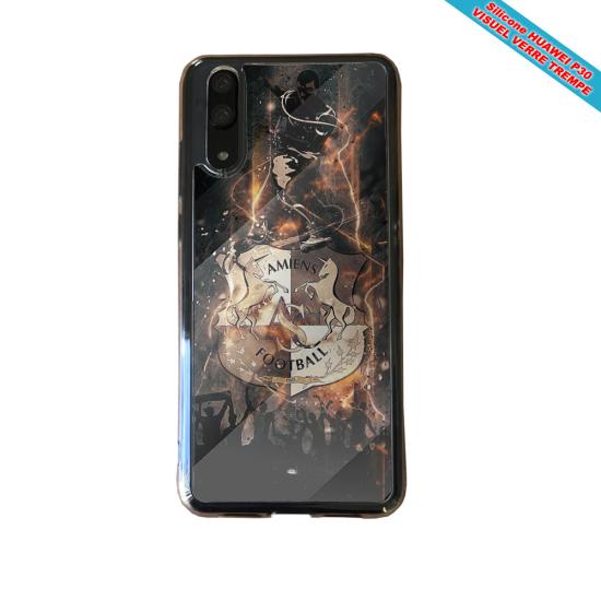 Coque silicone Iphone X/XS Fan de BMW sport version super héro