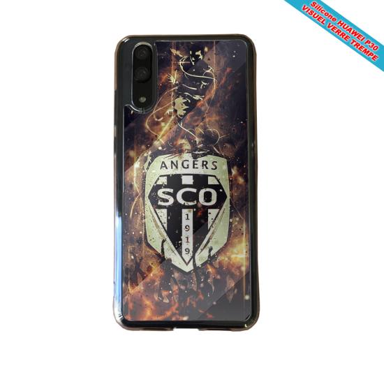 Coque Silicone iphone 7/8 PLUS Verre trempé Fan de BMW sport version super héro