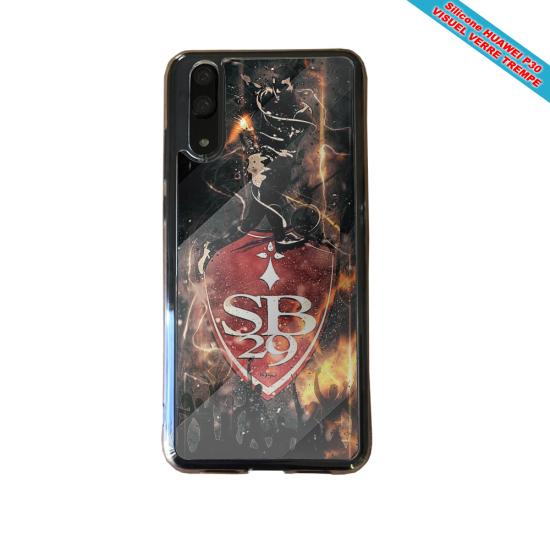 Coque Silicone iphone 7/8 verre trempé Fan de BMW sport version super héro
