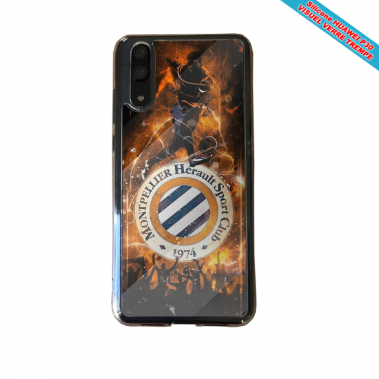 Coque Silicone iphone 5/5S/SE Fan de BMW sport version super héro