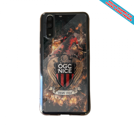 Coque silicone Huawei P40 Lite Flamant rose