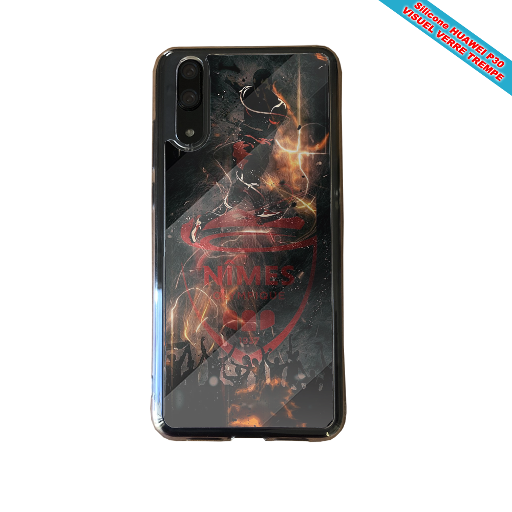 Coque silicone Huawei P40 Flamant rose