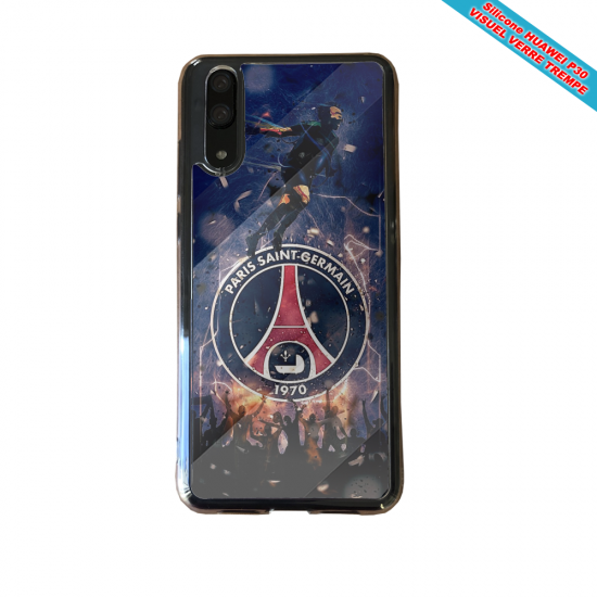 Coque silicone Huawei P30 PRO Flamant rose