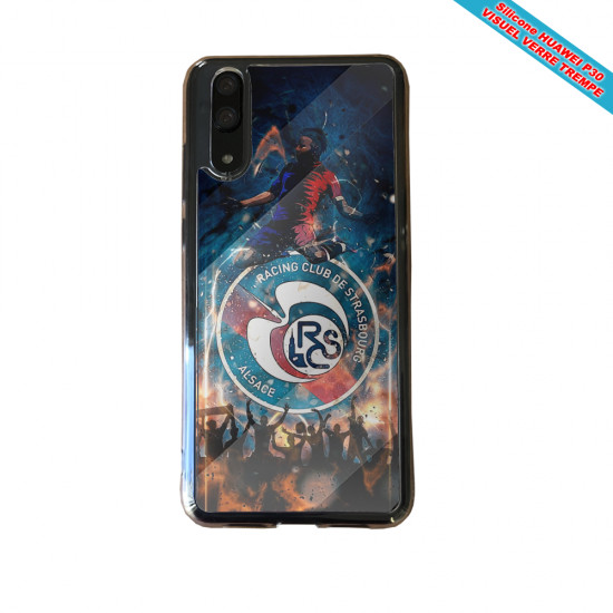 Coque silicone Huawei P20 PLUS Flamant rose