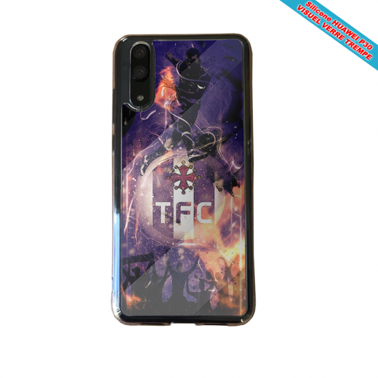 Coque silicone Huawei P20 LITE 2019 Flamant rose