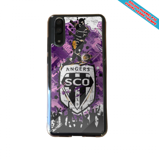 Coque silicone Huawei P20 Flamant rose