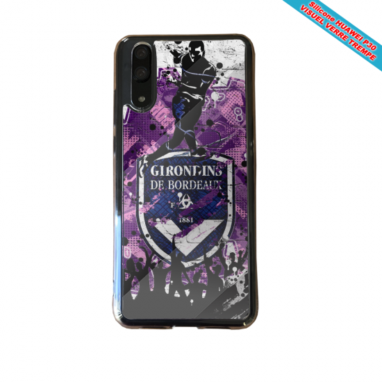 Coque silicone Huawei P10 PLUS Flamant rose