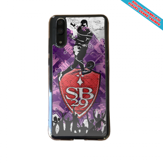 Coque silicone Huawei P10 Lite Flamant rose