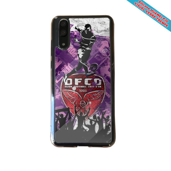 Coque silicone Huawei P10 Flamant rose