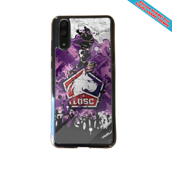 Coque silicone Huawei P9 Lite 2016 Flamant rose
