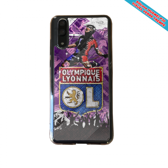 Coque silicone Huawei P9 Flamant rose