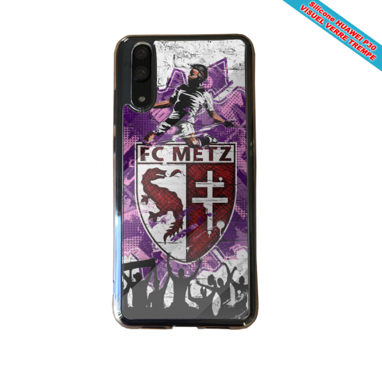 Coque silicone Huawei P8 lite Flamant rose