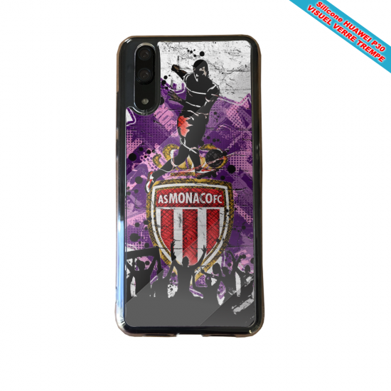 Coque silicone Huawei P8 Flamant rose
