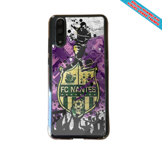 Coque Silicone Note 8 Flamant rose