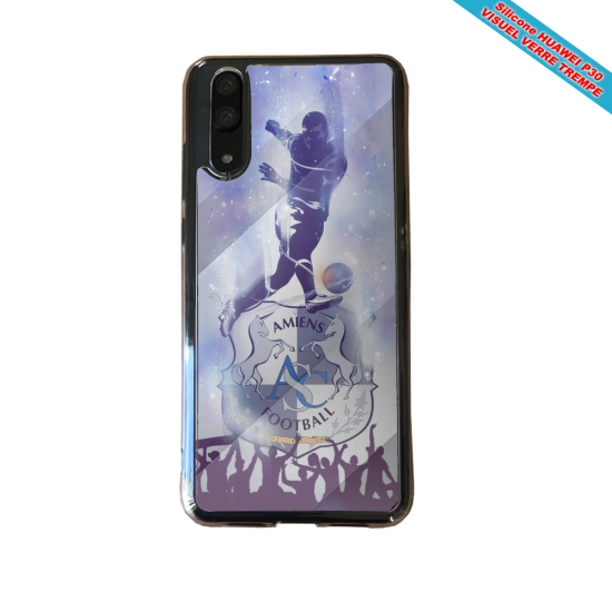 Coque Silicone Galaxy S10 verre trempé Flamant rose