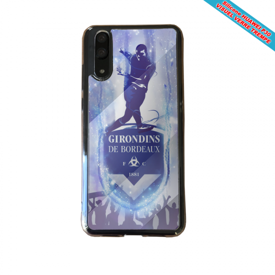 Coque Silicone Galaxy S9 PLUS verre trempé Flamant rose