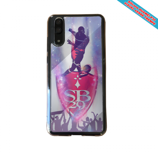 Coque Silicone Galaxy S9 PLUS Flamant rose
