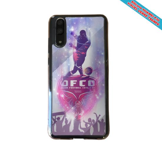 Coque Silicone Galaxy S9 verre trempé Flamant rose