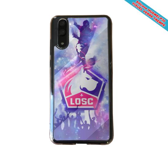 Coque Silicone Galaxy S9 Flamant rose