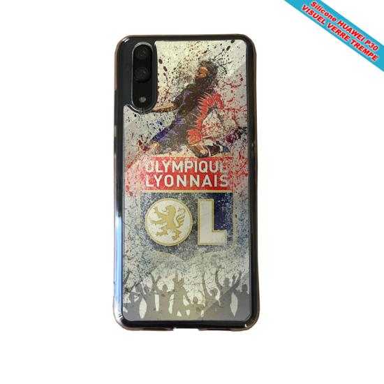 Coque silicone Galaxy A71 Flamant rose