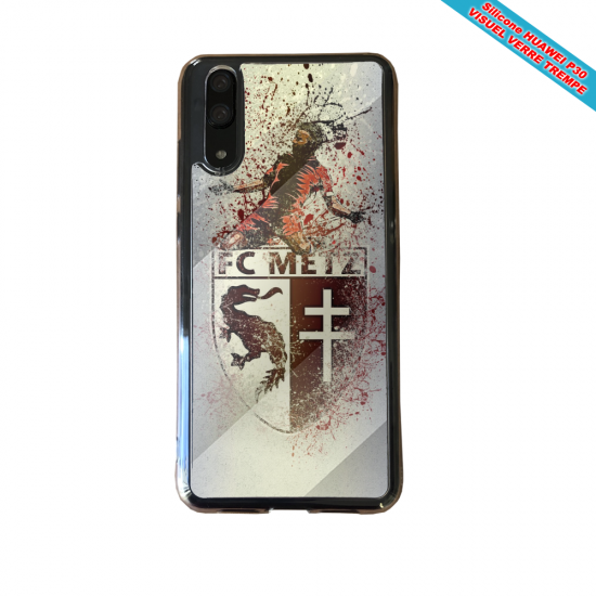 Coque silicone Galaxy A51 Flamant rose
