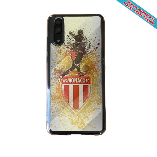 Coque silicone Galaxy A50 Flamant rose