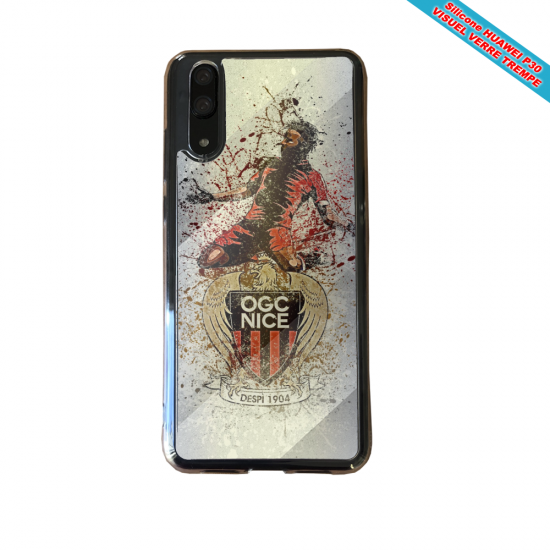 Coque silicone Galaxy A10 Flamant rose