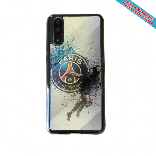 Coque silicone Iphone SE 2020 Flamant rose