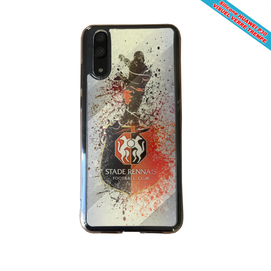Coque silicone Iphone 11 Pro verre trempé Flamant rose