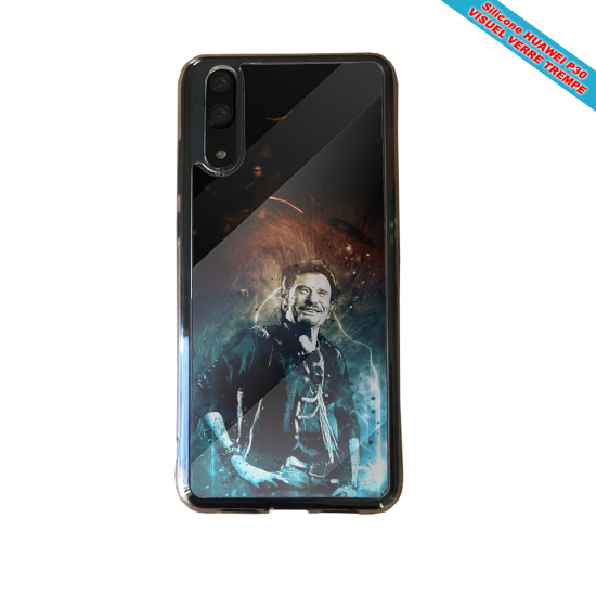 Coque silicone Iphone XR Flamant rose